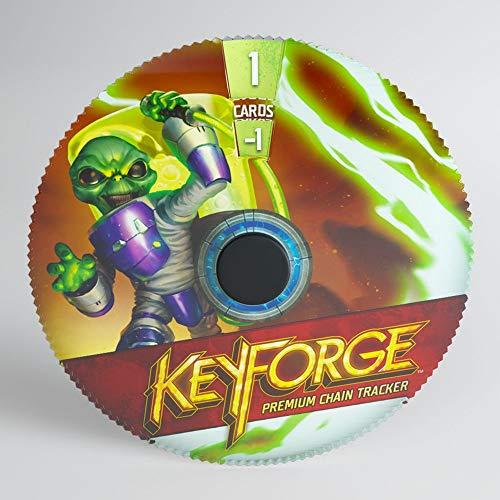GAMEGEN!C- Keyforge Premium Mars Chain Tracker ML, Couleur (GGS60006ML)