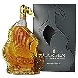 ラーセン ハンドメイドグラス シップ Gold Decorated Glass LARSEN 700ml