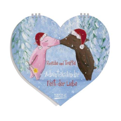 Rosalie und Trüffel - Fest der Liebe: Tisch-Adventskalender