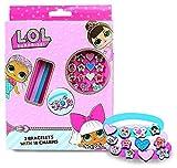 LOL Surprise- Set Pulsera y Charms, Multicolor (Kids 1)