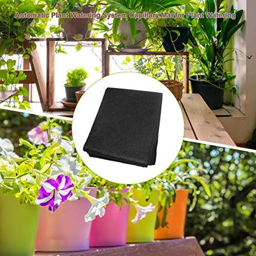 XIANLIAN Esterilla capilar de riego automático, kits de germinación, tela geotextil, Aquaponics, tapete de jardinería, para riego de plantas