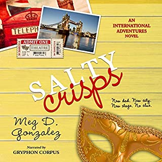 Salty Crisps audiobook cover art