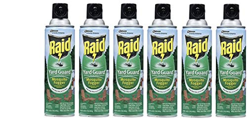 Raid Yard Guard Mosquito Fogger 16 OZ (Pack - 6)