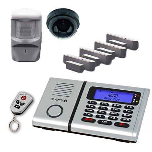 Olympia 6061 inalámbrico de alarma de vigilancia-Set con 1 cámara de la...