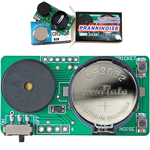GIIOASA Prank Stuff,Mini PCB Lrritating Noisemaker & Calls of Lnsects ,Small Size and Long Battery Life Start a Prank at Party,Office,Home(Upgraded Version Two Modes with 18 Voices)