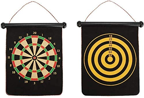 Purchase VSHT Kids Interactive Toy Magnetic Dartboard Sets 4 Reversible Darts Rolling Two Sided Bull...