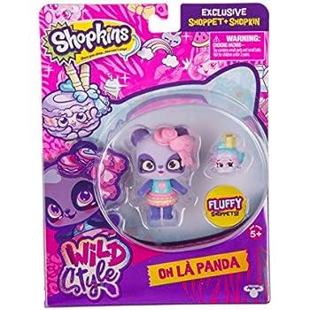 Shopkins S10 SHOPPETS Pack - Macaron Panda   Shopkin.Toys - Image 1