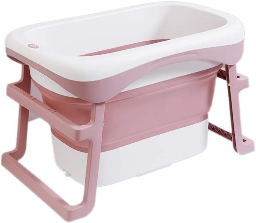 LXJ Bathtub Foldable Plastic 5 ☆ very popular Bath Shower Bu Children Adult Deluxe Tub