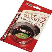 ヤマト卓球(TSP) フェザーサイドテープ2 44151 021 ブラック/レッド 8mm