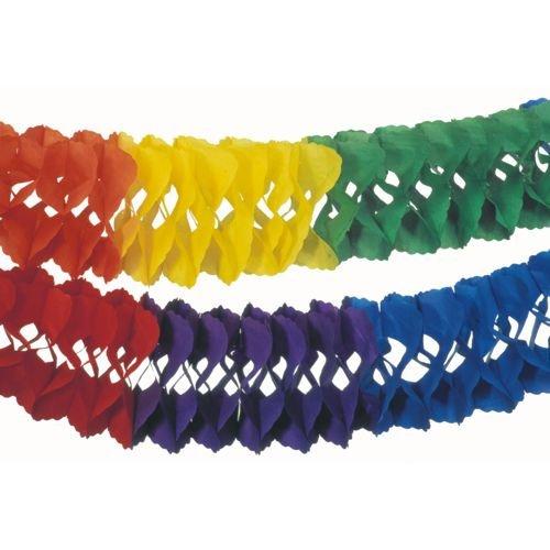 Déguisement - Guirlande Rainbow (10 m)