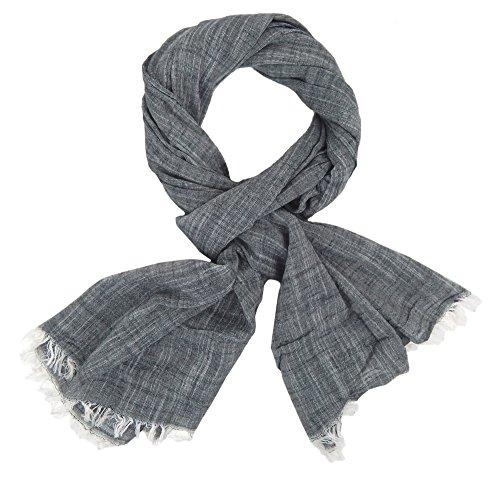 Ella Jonte Écharpes foulard d'homme élégant et tendance de la dernière collection by gris coton