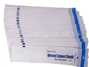 Prodent 600 Piece of Dental Intraoral Camera Sheaths,Covers,Sleeves Disposable Single Use
