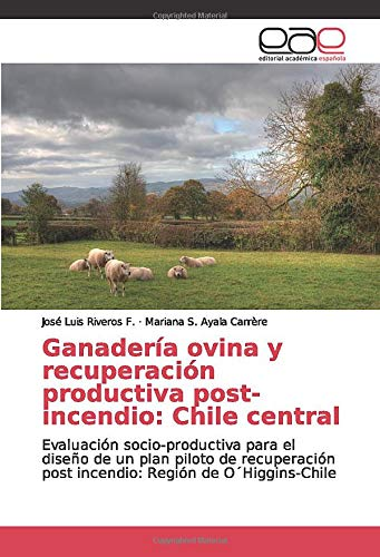 Ganadería ovina y recuperación productiva post-incendio: Chile central: Evaluación socio-productiva para el diseño de un plan piloto de recuperación post incendio: Región de O´Higgins-Chile