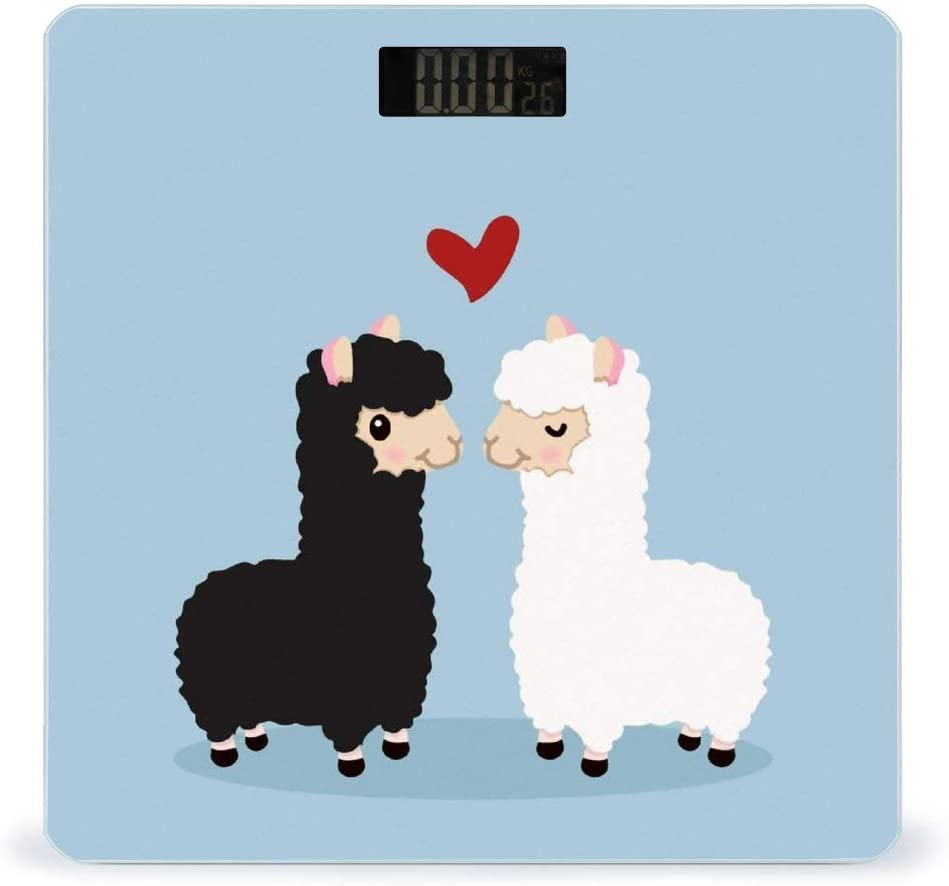 CHUFZSD Cute Heart Alpaca Llama Smart Ranking TOP12 Highly Soldering Sc Fitness Accurate