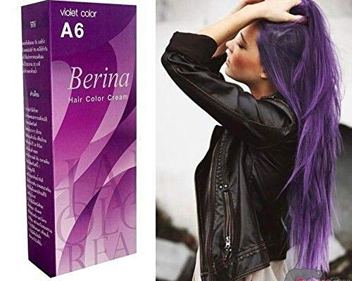 BERINA A6 PERMANENT HAIR DYE COLOR …