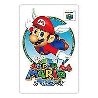 スーパーマリオブラザーズ ヒストリーカードウエハース [8.スーパーマリオ64 (1996)](単品)※お菓子は付属しません。カードのみです。