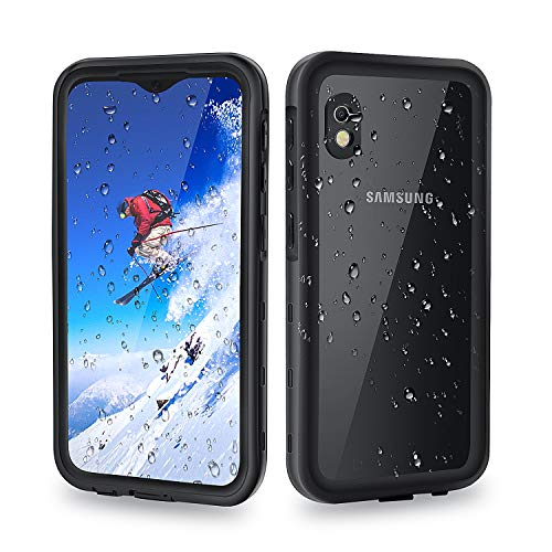 meritcase Samsung A10E Case, IP68 Waterproof Shockproof Dustproof Protective Phone Case Cover with Screen Protector for Samsung Galaxy A10E