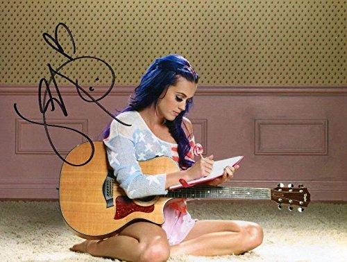 FM Katy Perry Signiert Autogramme 21cm x 29.7cm Plakat Foto