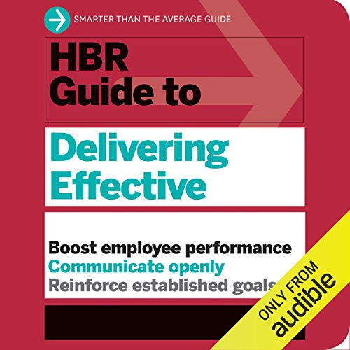 Couverture de HBR Guide to Delivering Effective Feedback