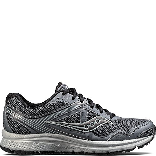 Saucony Men's Cohesion TR10 Running Shoe, Charcoal, 9 Medium US