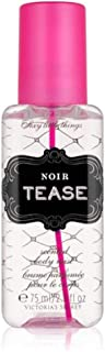 Victorias Secret Noir Tease Scented Body Mist Vapo 75 ml 2.5 oz Deluxe Travel Size (0667526415109)