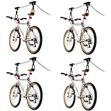 Discount Ramps 4-Bike Elevation Garage Bicycle Hoist Kit