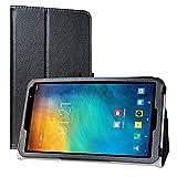 Labanema Funda para TECLAST P80X 8 Inch Tablet, Slim Fit Carcasa de Cuero Sintético con Función de Soporte Folio Case Cover para 8.0' TECLAST P80X 8 Inch Tablet - Negro
