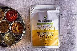 The Divine Foods | Turmeric Powder | Organic | High Curcumin (250 gm)