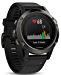 Garmin Fenix 5 - Slate Gray with Black Band (Renewed)