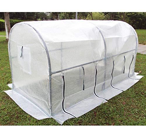 YXWwsa Carpas de Invernadero Invernadero de jardín con estantes Steeple Green House Grow House Cubierta Desmontable 200 * 100 * 100cm