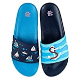 CiaoPaw Ship Slide Sandals   Water Shoes for Girls, Boys   Shower Shoes   Sandals for Women and Man   Quick Drying Beach Pool Open Toe Slides