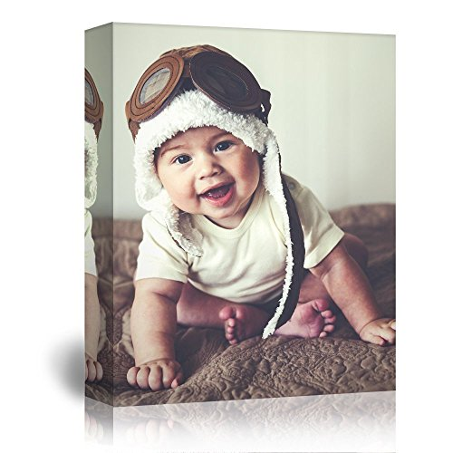 wall26 - Personalized Photo to Canvas Print Wall Art - Custom Your Photo On Canvas Wall Art - Digitally Printed - 16