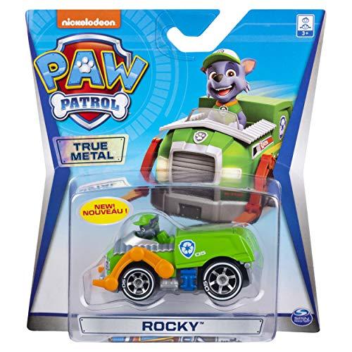 Paw Patrol Rocky True Metal Ready Race Rescue Diecast Car