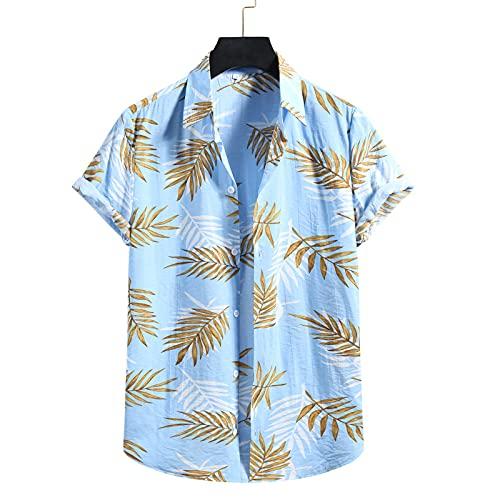 Herrenhemden Persönlichkeit Modedruck Sommer Wilde Persönlichkeit Retro Einfache Plus Size ShirtMedium