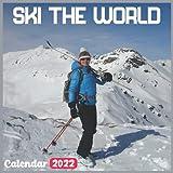 Ski The World Calendar 2022: Official Skiing Calendar 2022, 18 Month Photo of Ski The World calendar 2022, Mini Calendar