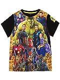 Marvel Camiseta para niño Avengers Multicolor 10-11 Años