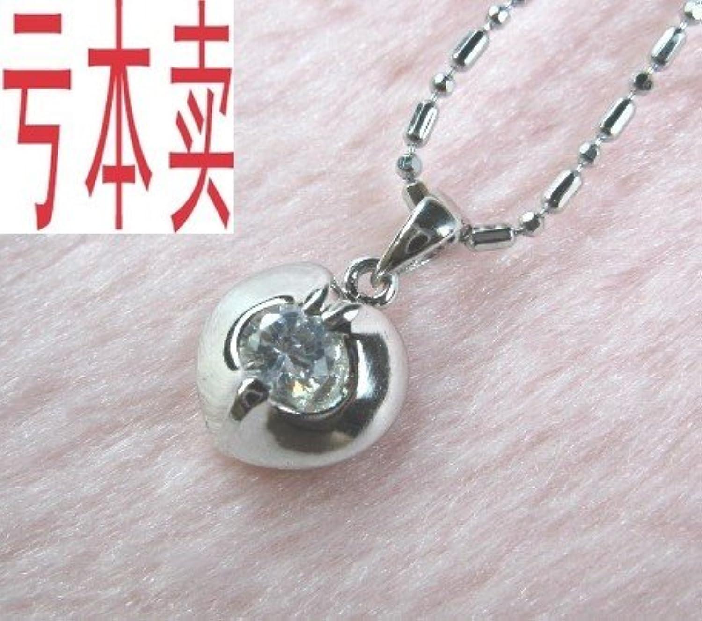 Simulation Genuine Fashion Diamond Necklace Pendant 925 Sterling Silver Necklace Pendant Women Girls Models Send 28 Women Girls Necklace Pendant Necklace