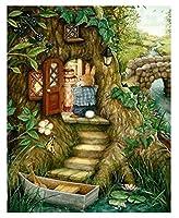 ジグソーパズル ピーター・ウサギとニンジンパズルゲーム大人の子供たちは不可能な木のパズル300/500/1000/1500部分、2スタイル (Color : B, Size : 4000P)