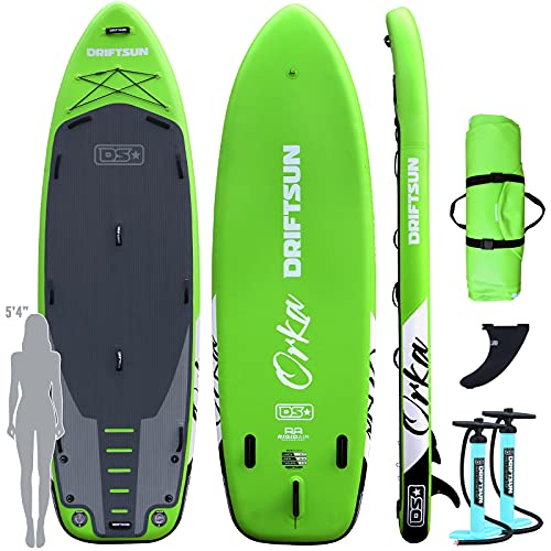 Great for Two or More Dogs - Driftsun Orka Paddle Board