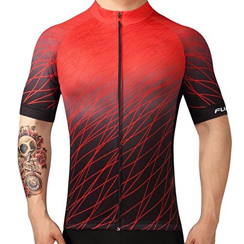 Plan A Maglia da Ciclista Stagione Estiva Uomo Sport e Tempo Libero Abbigliamento Ciclismo Magliette Manica Corta