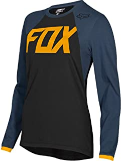 Fox Racing 2019 Womens Switch MATA Jersey-Black/Navy-L