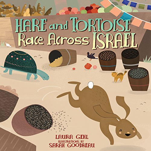 Hare and Tortoise Race Across Israel cover art