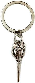 Bird Skull Keychain,Animal Skull Keyring,Skull Key Ring,Native American,Bird skull keyring,Raven Skull Keychain,Crow Keychain