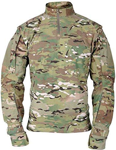 Propper Chemise Combat pour Homme Tac.u Classique - Camouflage Multi-environnements, Taille L