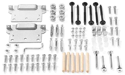 IKEA HOPEN Bed Frame Hardware - IKEA Replacement Parts for Assembling IKEA Beds