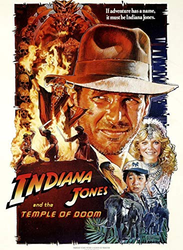 Wooden Jigsaw Puzzles for Adults 1000 Piece Puzzle for Adults 1000 Pieces Puzzle 1000 Pieces - Indiana Jones and The Temple of Doom (1984) Movies Jigsaw Puzzle