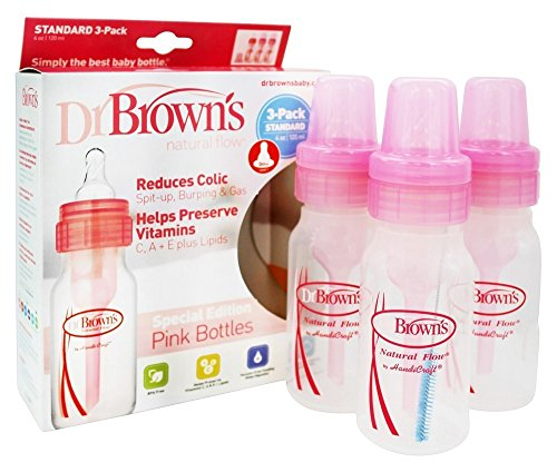 Dr. Brown's Bottles are a must have item when preparing for twins!