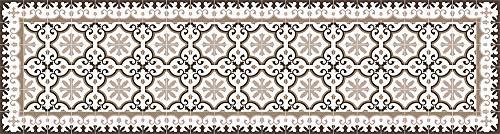 Viniliko Victorian Vinyl tapijt, meerkleurig, 80 x 300 cm