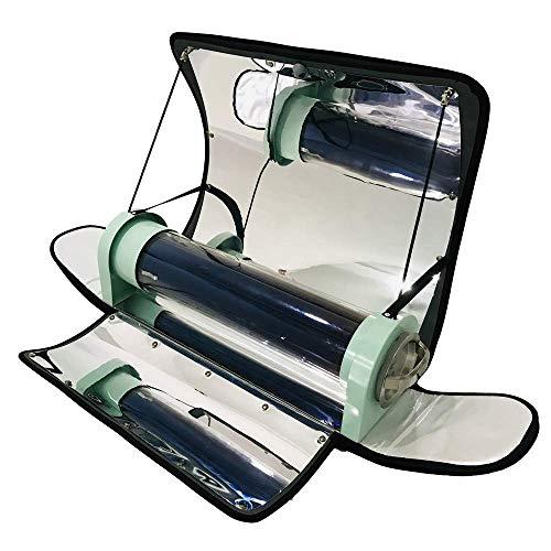 SEAAN Outdoor Integrierter Solarkocher Tragbarer Parabolischer Solarkocher mit höherer Effizienz Maximale Temperatur: 550 ° F (288 ° C)