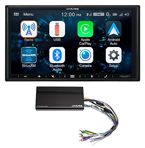 ALPINE iLX-W650 7' Digital Media Bluetooth Carplay Receiver+KTA-450 Power Pack